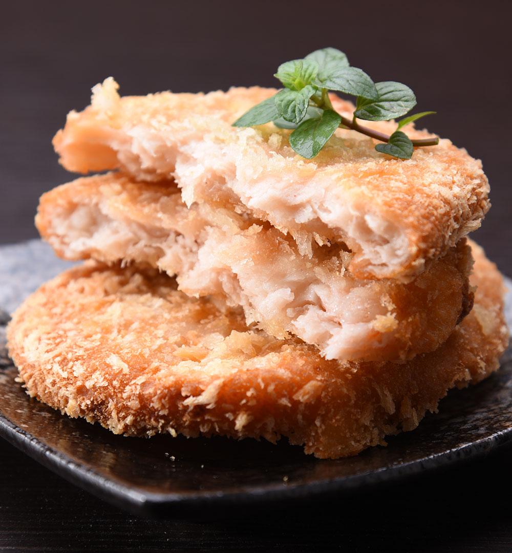 黃金海鮮餅